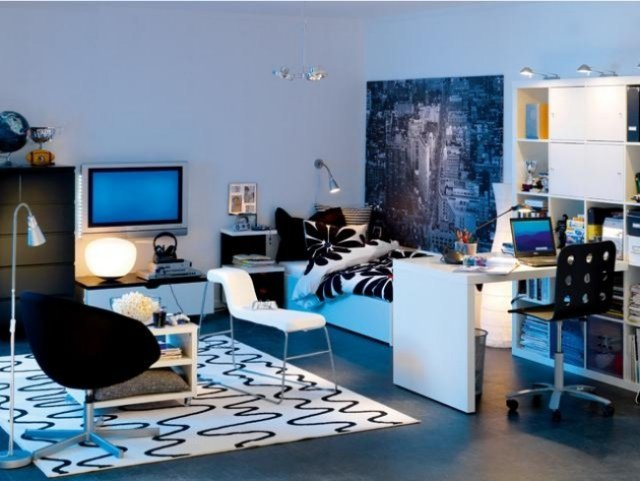 Idee decoration chambre adolescent garcon visuel 1 for Decoration chambre adolescent garcon