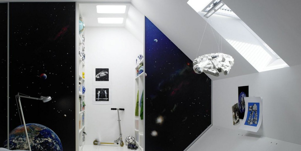 idee decoration chambre star wars