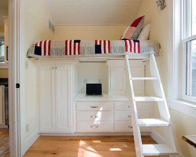 Idees rangement pour petite chambre visuel 6 for Petite chambre adulte