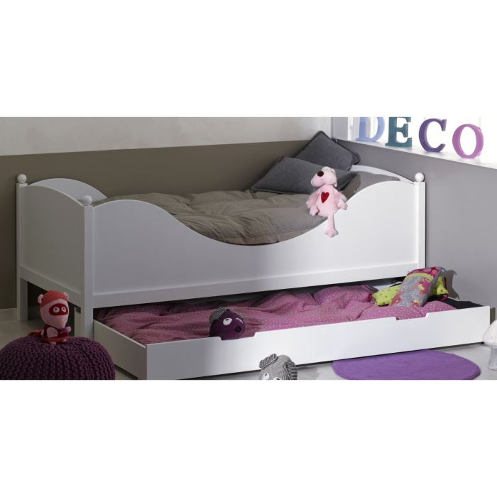 lit junior avec tiroir matelas visuel 9. Black Bedroom Furniture Sets. Home Design Ideas