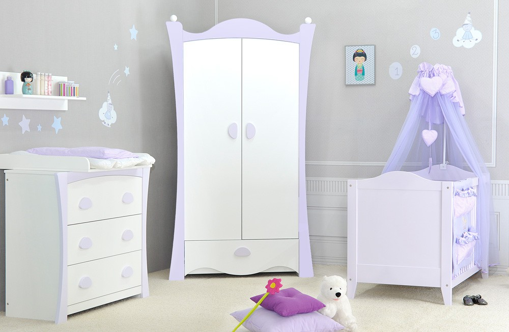 Photo chambre bebe fille parme visuel 9 - Photo chambre bebe fille ...