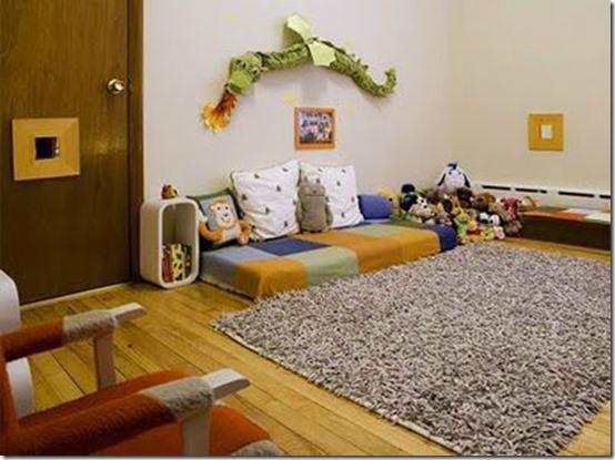 amenagement chambre bebe montessori