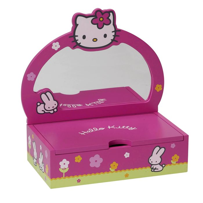 boite a bijoux hello kitty pas cher visuel 2. Black Bedroom Furniture Sets. Home Design Ideas