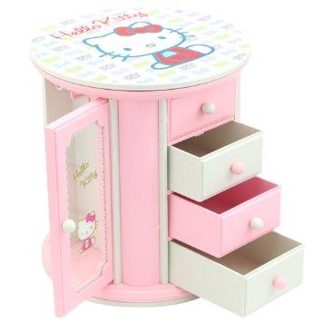 boite a bijoux musicale hello kitty visuel 3. Black Bedroom Furniture Sets. Home Design Ideas