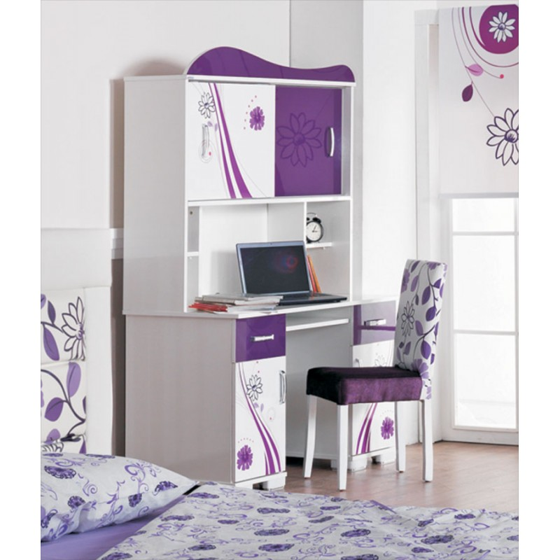 bureau chambre fille. Black Bedroom Furniture Sets. Home Design Ideas