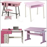 bureau petite fille rose. Black Bedroom Furniture Sets. Home Design Ideas
