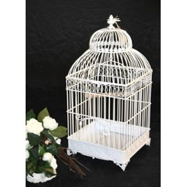 cage oiseau decorative blanche visuel 8. Black Bedroom Furniture Sets. Home Design Ideas
