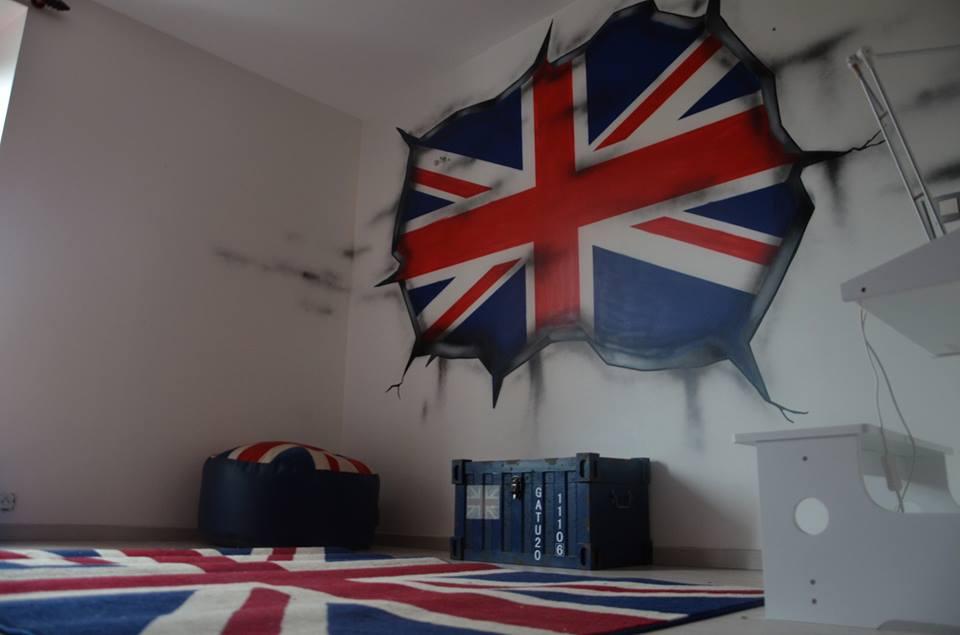 chambre deco anglaise - visuel #8