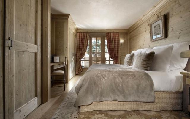 Chambre decoration bois visuel 6 for Decoration chambre style chalet