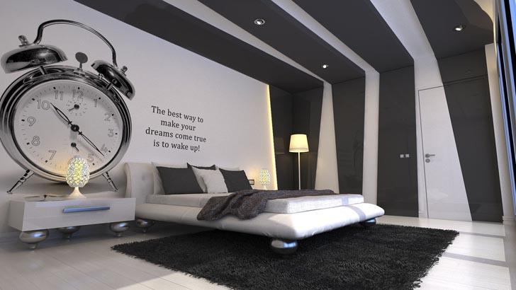 chambre decoration moderne - visuel #6