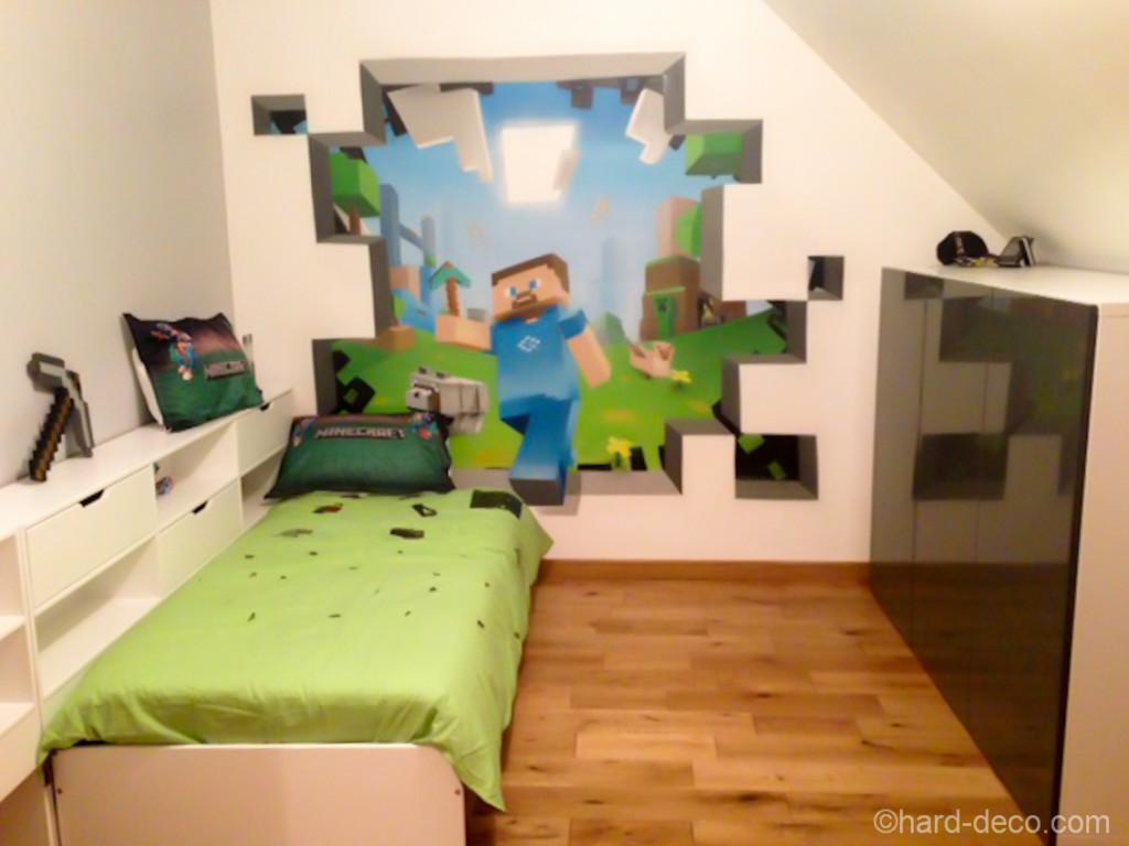 Deco chambre nature chambre thme nature dco chambre bb for Chambre de bb dco