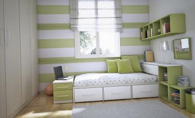 deco chambre ado vert - visuel #2