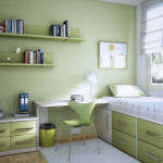 deco chambre ado vert