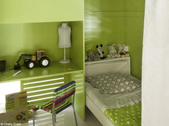 deco chambre ado vert - visuel #7