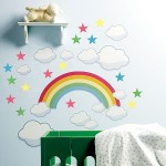 deco chambre bebe arc en ciel