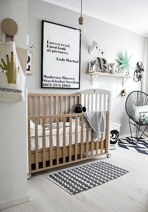Deco chambre bebe nordique visuel 3 - Chambre enfant scandinave ...