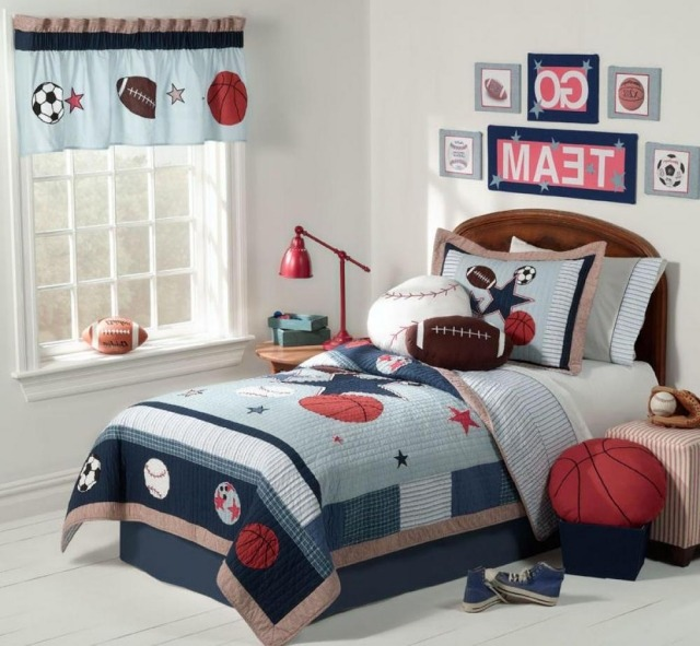 deco chambre garcon basket visuel 5. Black Bedroom Furniture Sets. Home Design Ideas