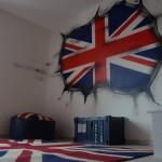 deco chambre garcon london