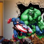 deco chambre hulk