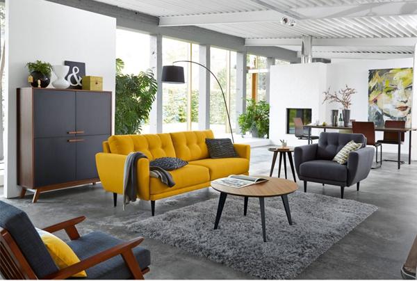 deco chambre jaune moutarde - visuel #3