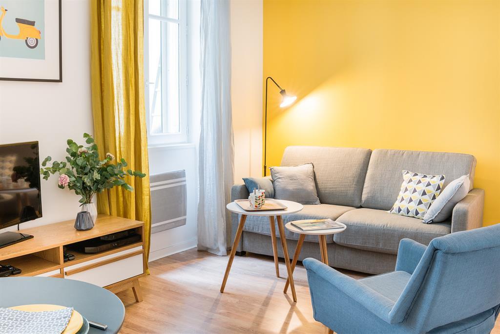 deco chambre jaune moutarde - visuel #8