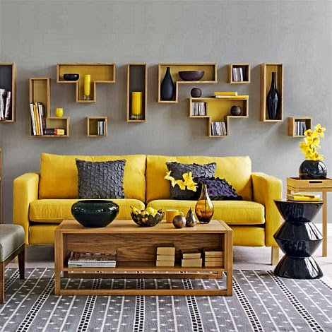16 deco chambre jaune moutarde - Chambres Jaune Moutarde