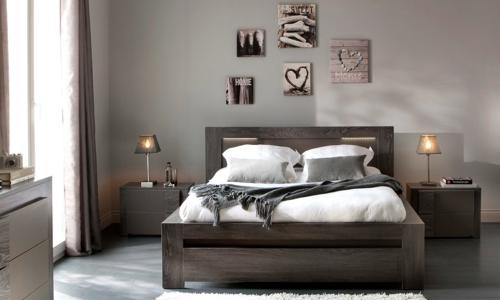 deco chambre meuble wenge - visuel #5