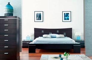 deco chambre meuble wenge - visuel #1