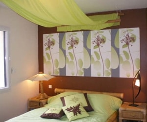 Awesome Decorer Chambre Adulte Vert Anis Contemporary - Design ...