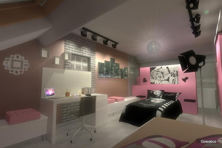 Deco de chambre swag visuel 8 for Chambre 8m2 paris