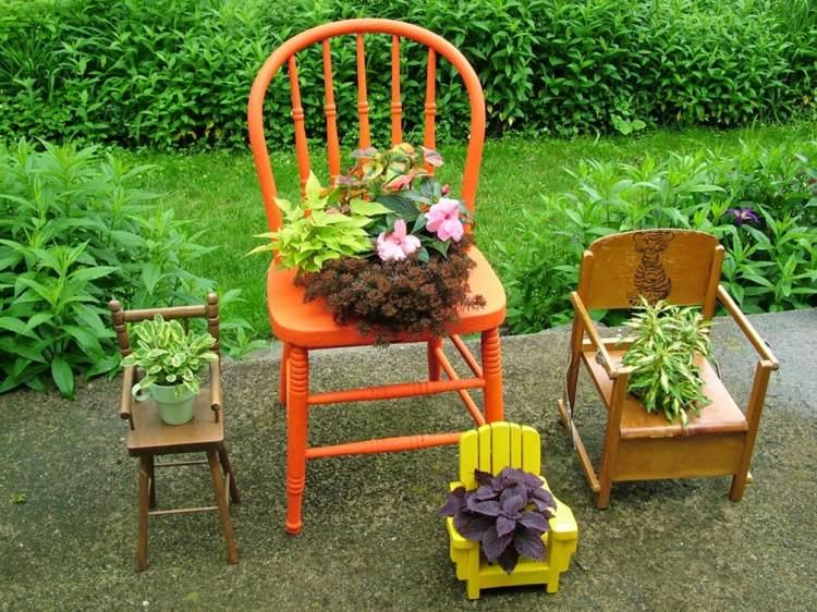 """"""" Astuces Diverses """" Bricolages , Recyclage """" Deco-de-jardin-a-faire-soi-meme-4"""