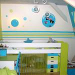 Deco peinture chambre petit garcon for Peinture chambre petit garcon