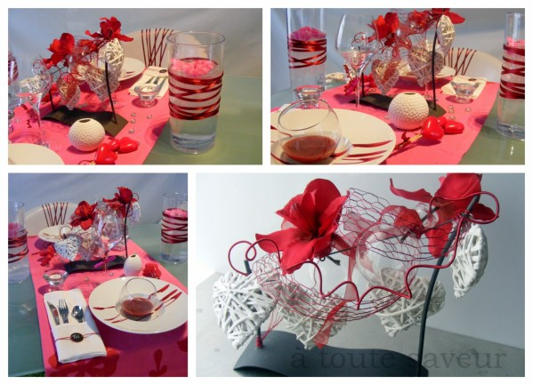 Deco table st valentin a faire soi meme visuel 3 - Decoration de table originale ...