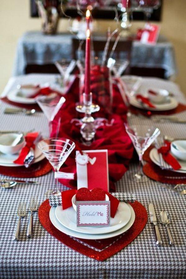 deco table st valentin a faire soi meme \u2013 visuel 4. «