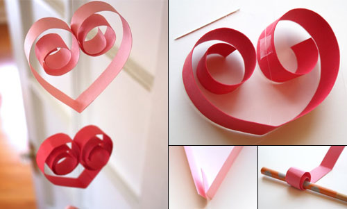 Deco de table a faire soi meme maison design for Deco saint valentin