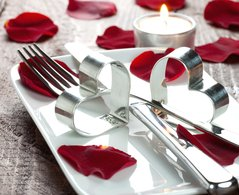 deco table st valentin a faire soi meme visuel 1. Black Bedroom Furniture Sets. Home Design Ideas