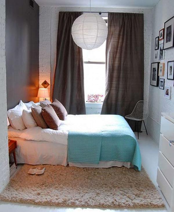 decoration chambre a coucher petite surface - Chambre A Couche Petite
