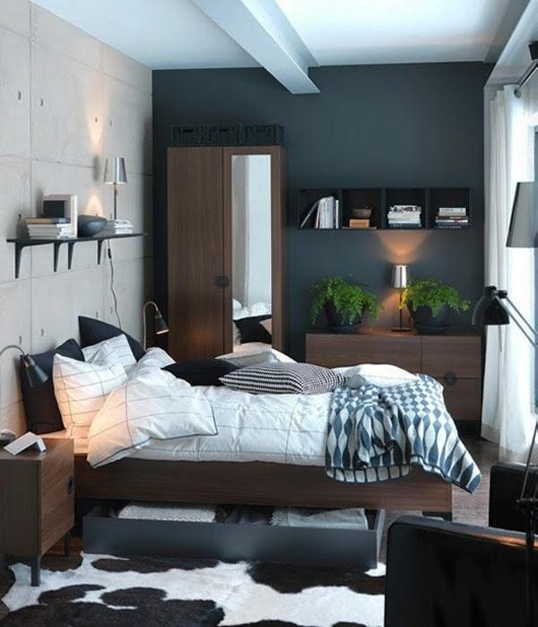 decoration chambre a coucher petite surface visuel 1