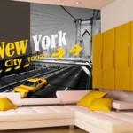 decoration chambre ado style new york