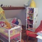 decoration chambre bebe barbapapa