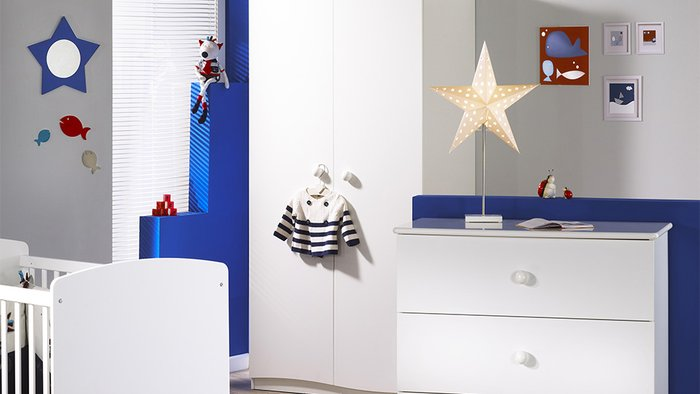 decoration chambre bebe marin