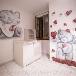 decoration chambre bebe nounours