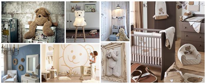 Awesome Chambre Bebe Ourson Galerie - Photos et idées décoration ...
