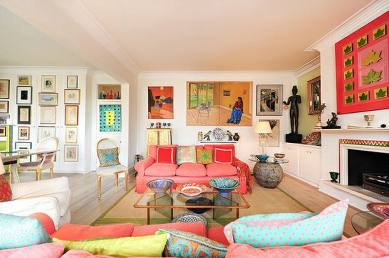 decoration chambre coloree - visuel #8