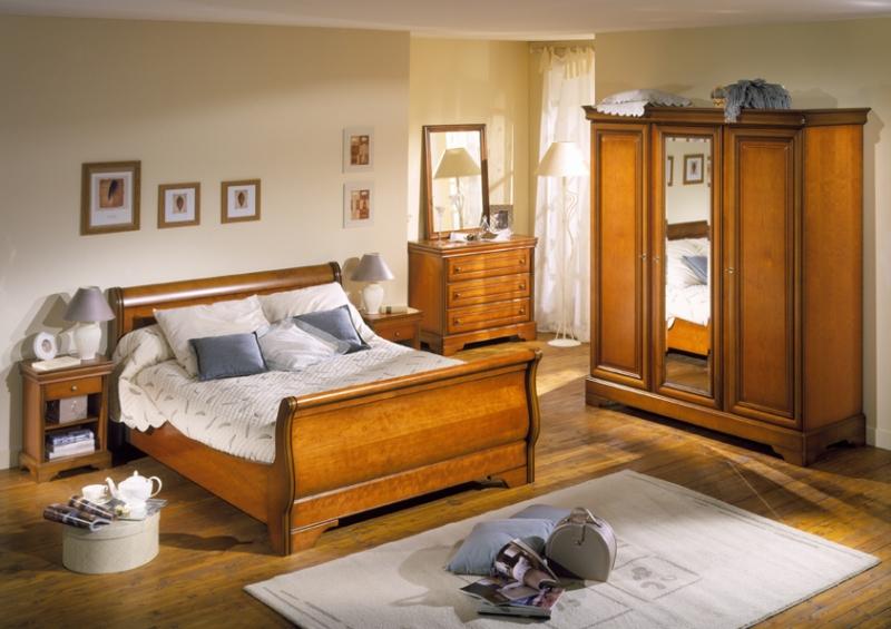Déco Chambre Meuble Merisier : Decoration chambre en merisier visuel