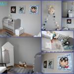 decoration chambre fait main