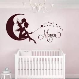 Decoration chambre fille stickers visuel 8 - Stickers pour chambre bebe fille ...