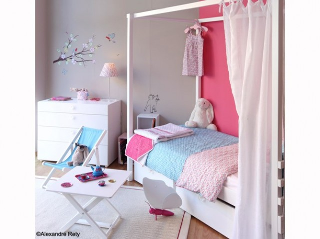Photo chambre fille 10 ans for Decoration chambre garcon 10 ans