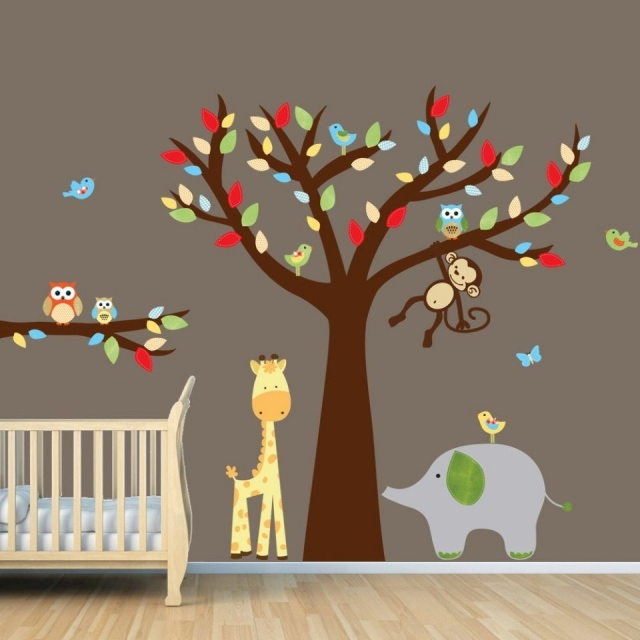 Decoration chambre garcon stickers for Sticker mural chambre fille