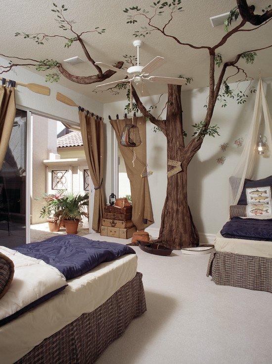 idee deco chambre hawaii